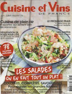 Cuisine Et Vins De France Juin Juillet 2017 Calmel Joseph